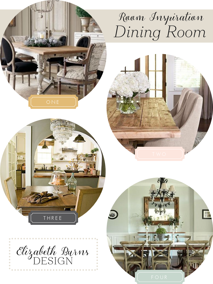 Elizabeth Burns Design | Dining Room Inspiration