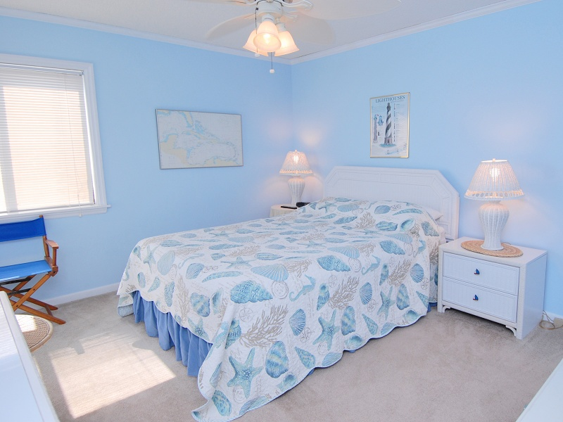 Elizabeth Burns Design | Sea Spray Condo Master Bedroom Before and After