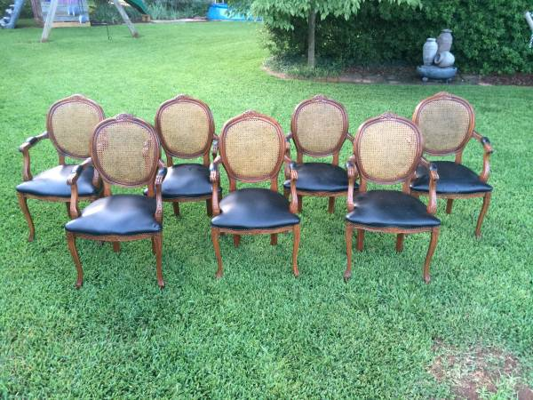 Elizabeth Burns Design | Oval Cane Chairs - How to Buy Furniture on Craigslist
