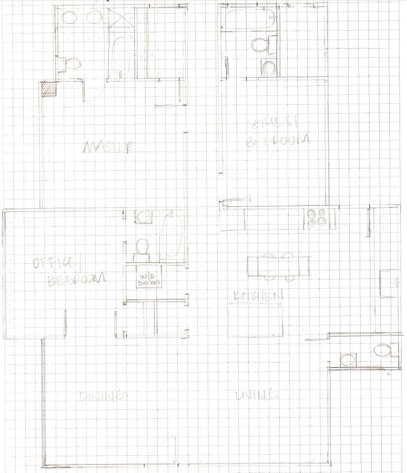 Elizabeth Burns Design | Myrtle House Floorplan