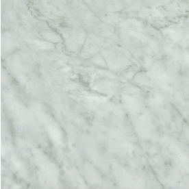 Elizabeth Burns Design | Faux Marble Vinyl Floor