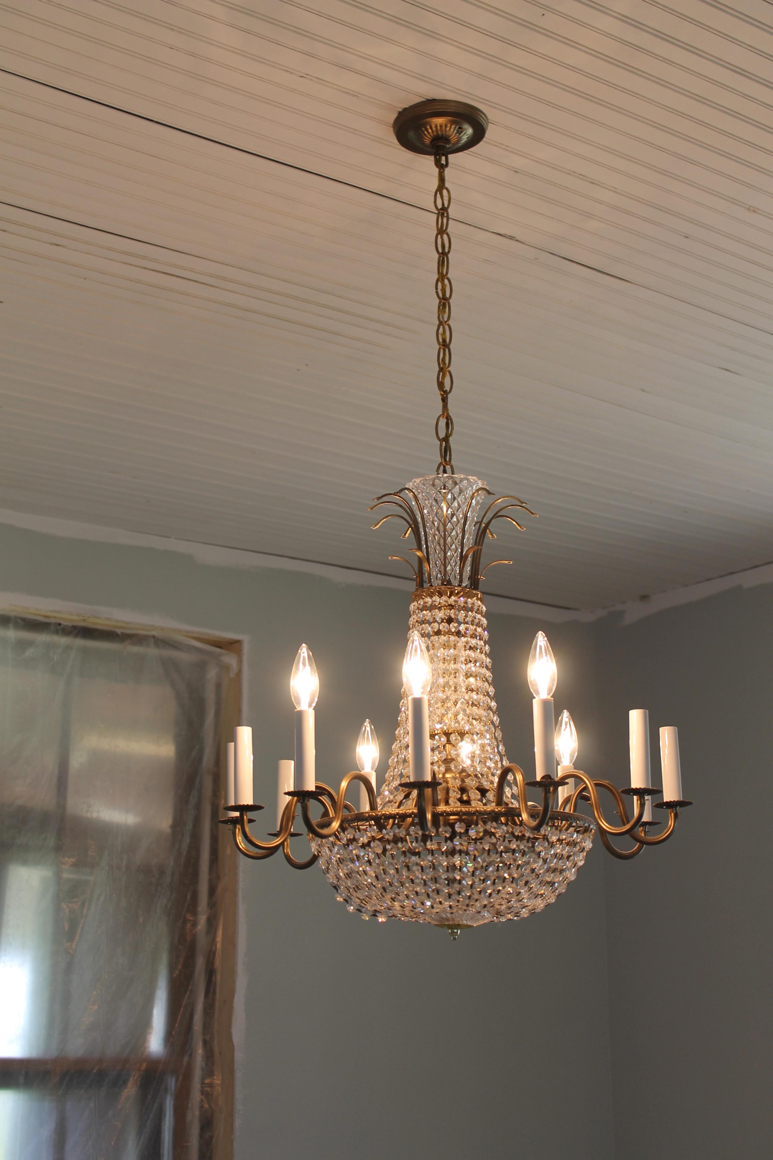 Elizabeth Burns Design | Kitchen Lighting - Old House Renovation/Flipping
