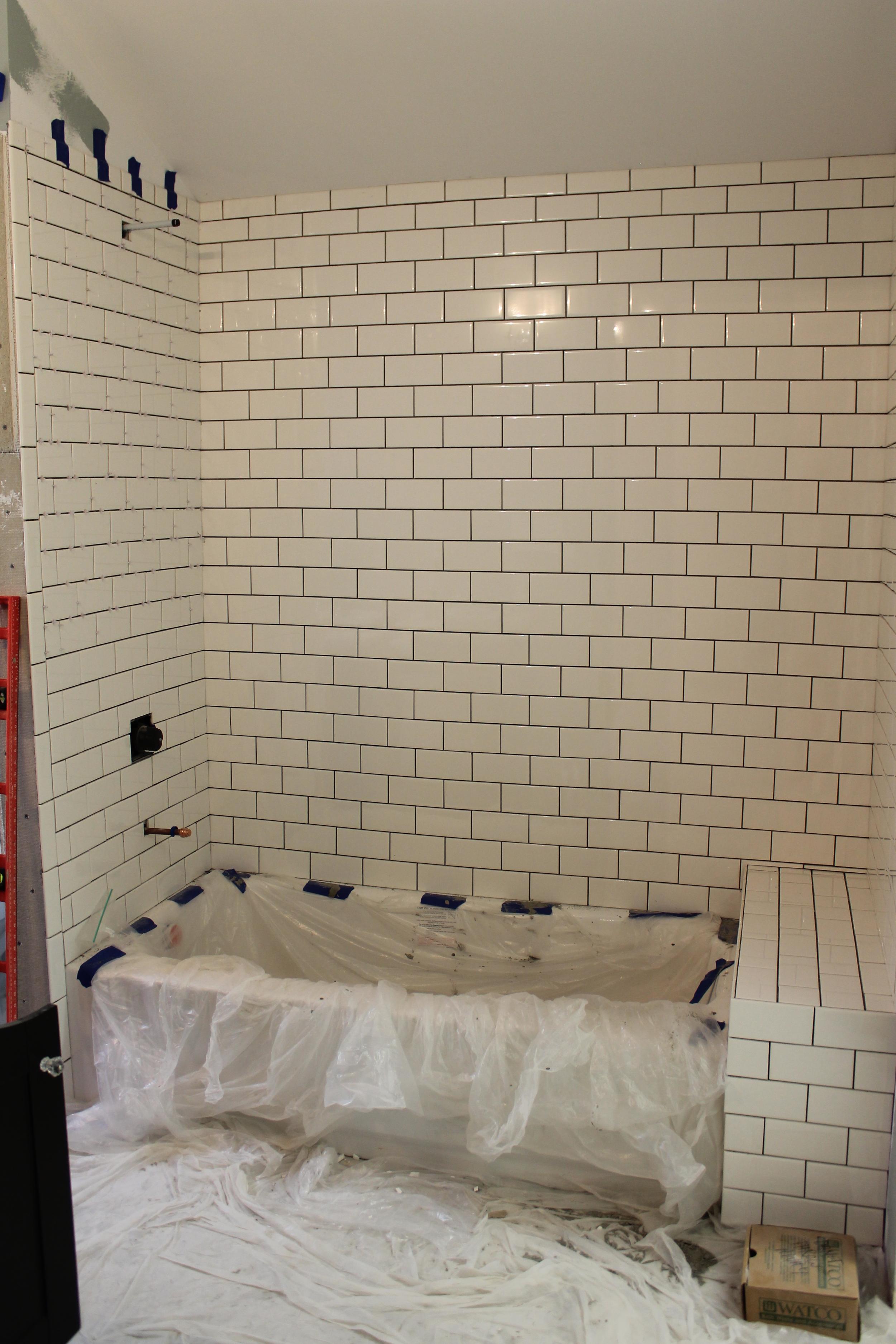 Elizabeth Burns Design | Installing Tile, Subway Tile DIY