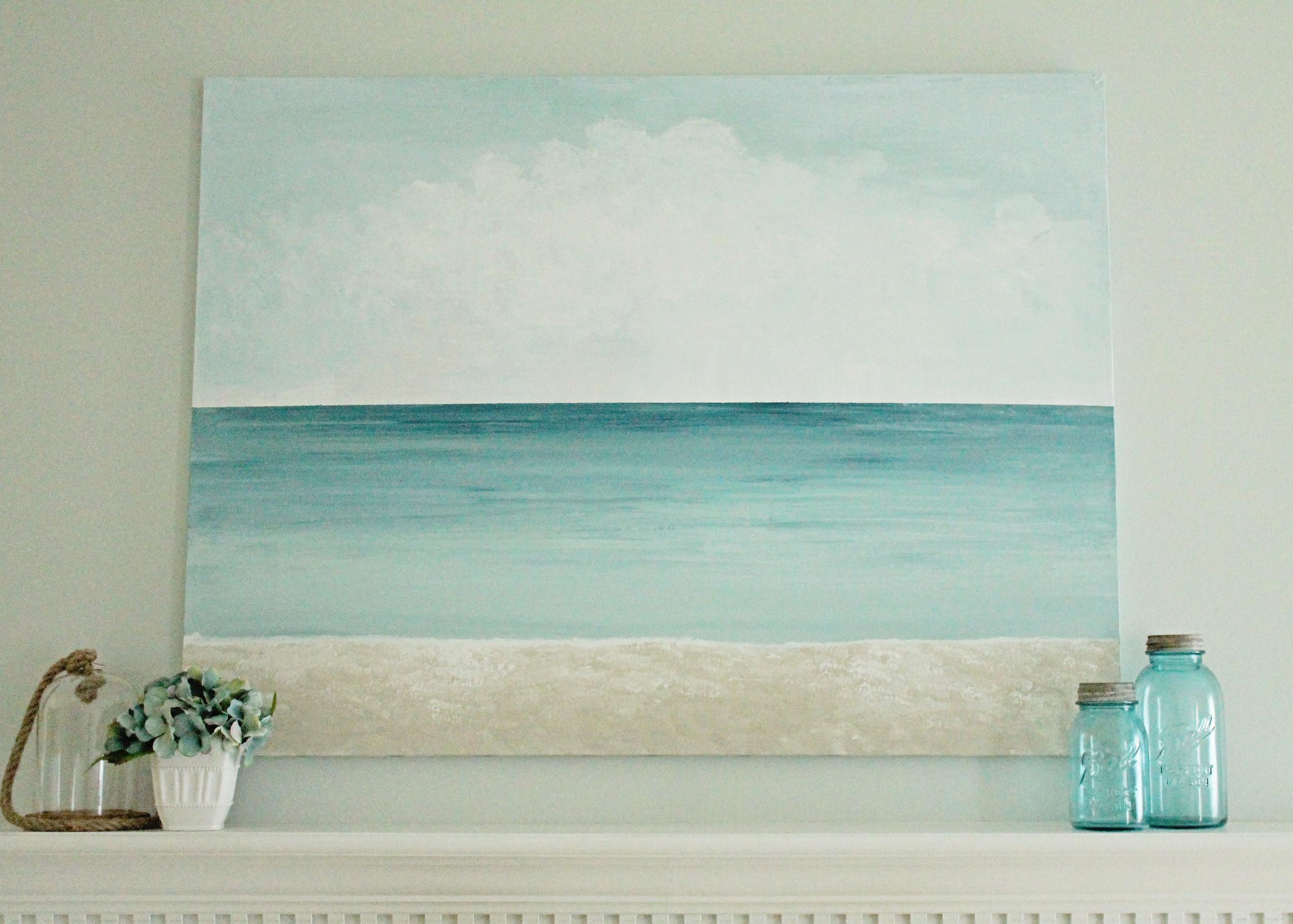 Repurposed Canvas Art Diy Elizabeth Burns Design