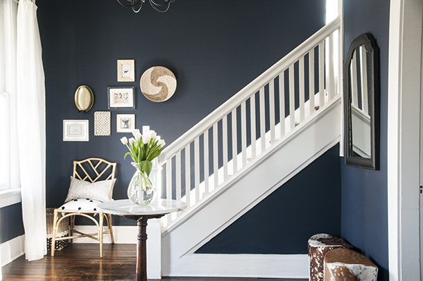 Earnest Home Co. - Sherwin Williams Naval