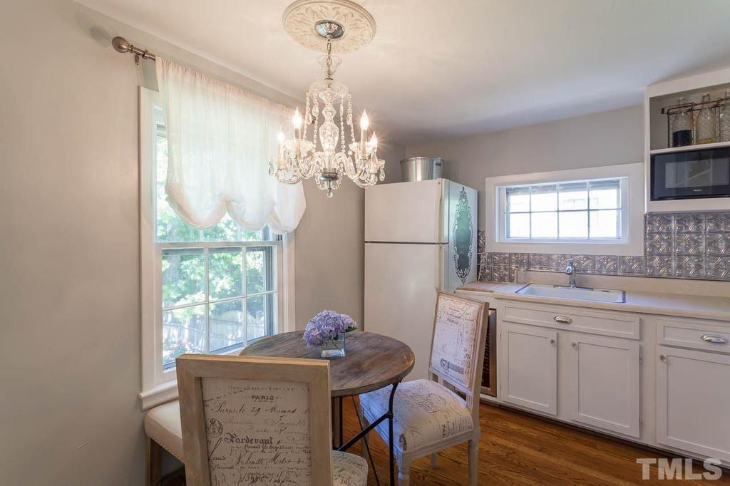 Elizabeth Burns Design | Sherwin Williams Silver Strand, Kitchen Design, Raleigh NC Interior Design, Before and After