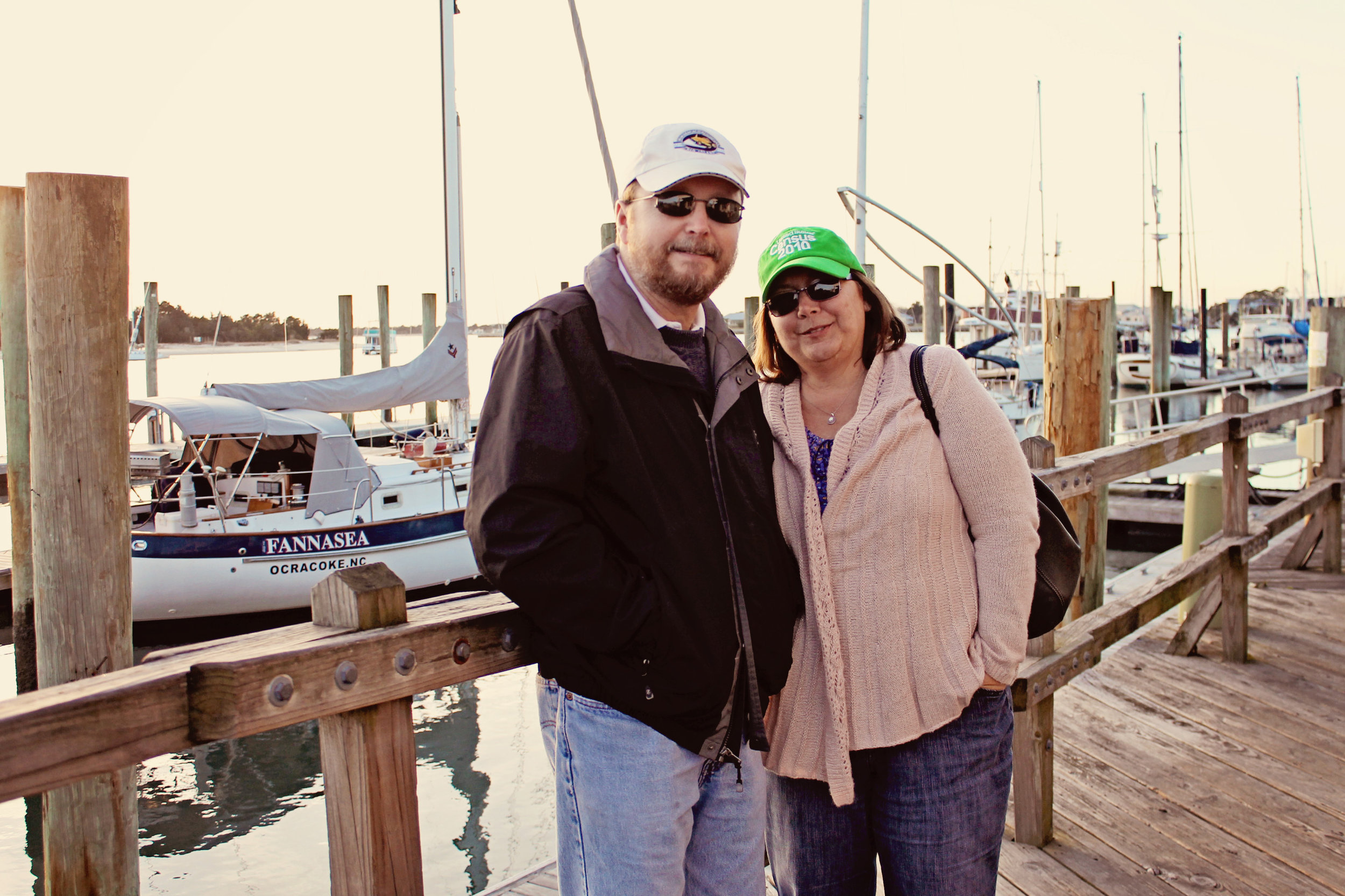 My parents - aren't they cute?