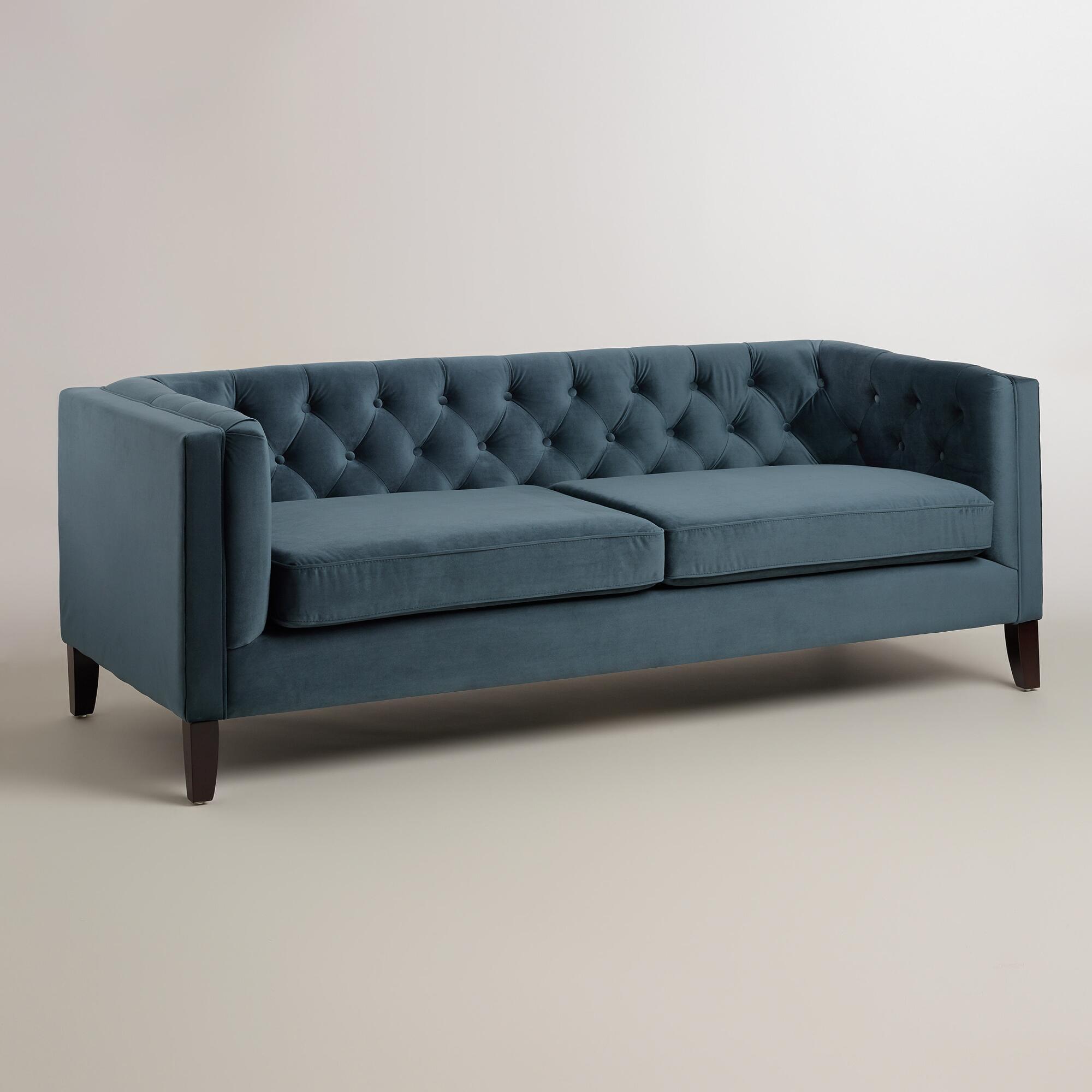 Midnight Velvet Sofa | ON SALE $524.99