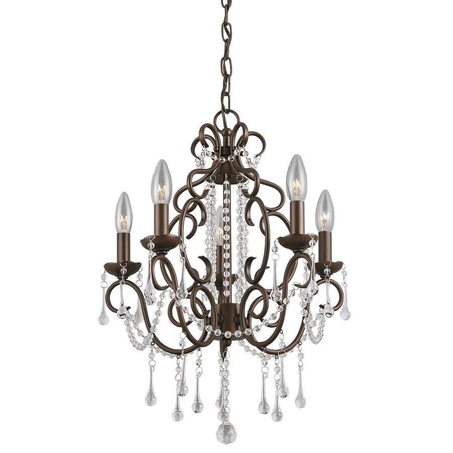 Dark Bronze Crystal Chandelier | $109