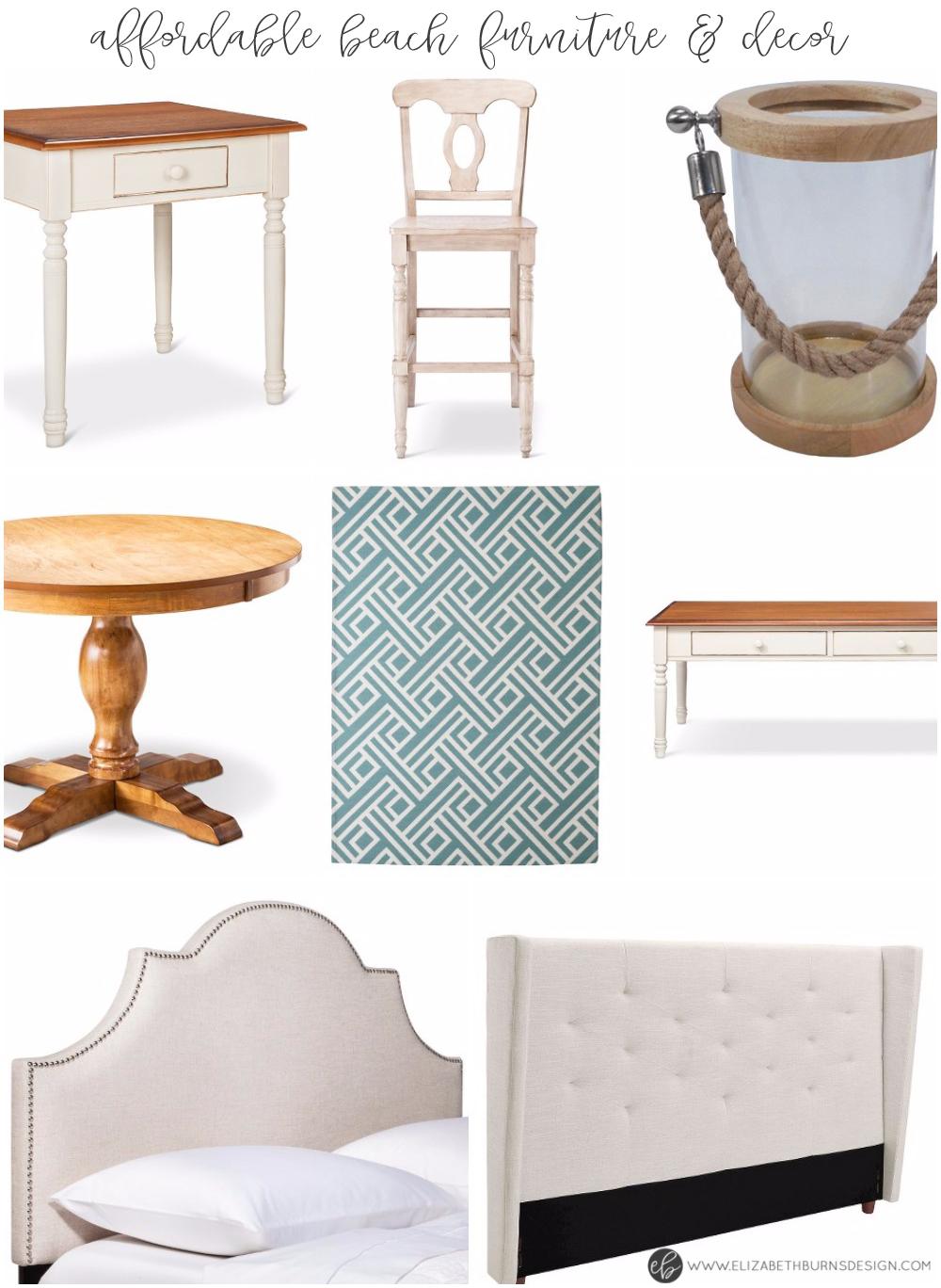 Elizabeth Burns Design   Affordable Beach Inspired Furniture and Decor - Target Clearance