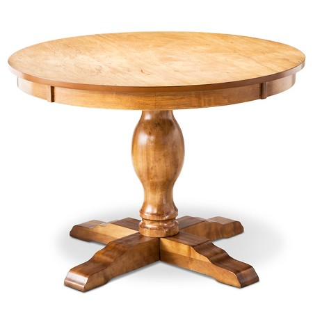 Pedestal Dining Table   $174.98 also in  black