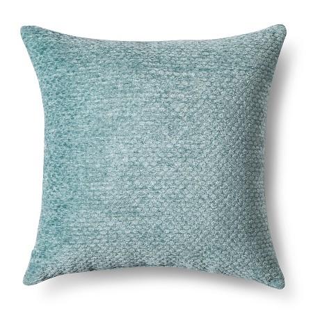Aqua Chenille Pillow | $16.99 ON SALE