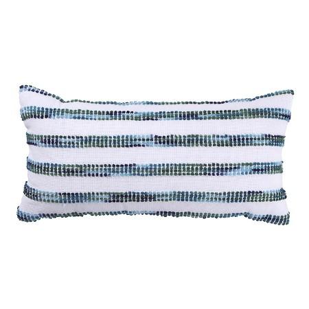 Navy Striped Lumbar Pillow | $17.99 ON SALE