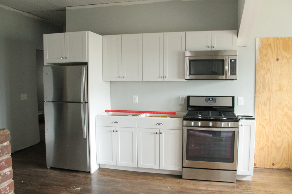 Installing Kitchen Cabinets Yourself - DIY Kitchen Renovation by Elizabeth Burns Design