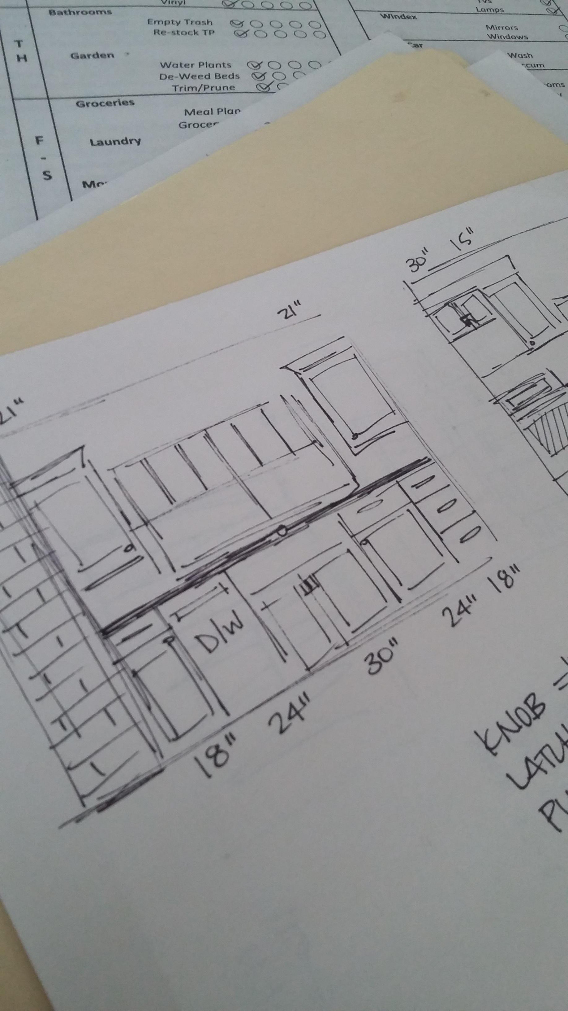 House Flipping - Small Kitchen Layout   Elizabeth Burns Design