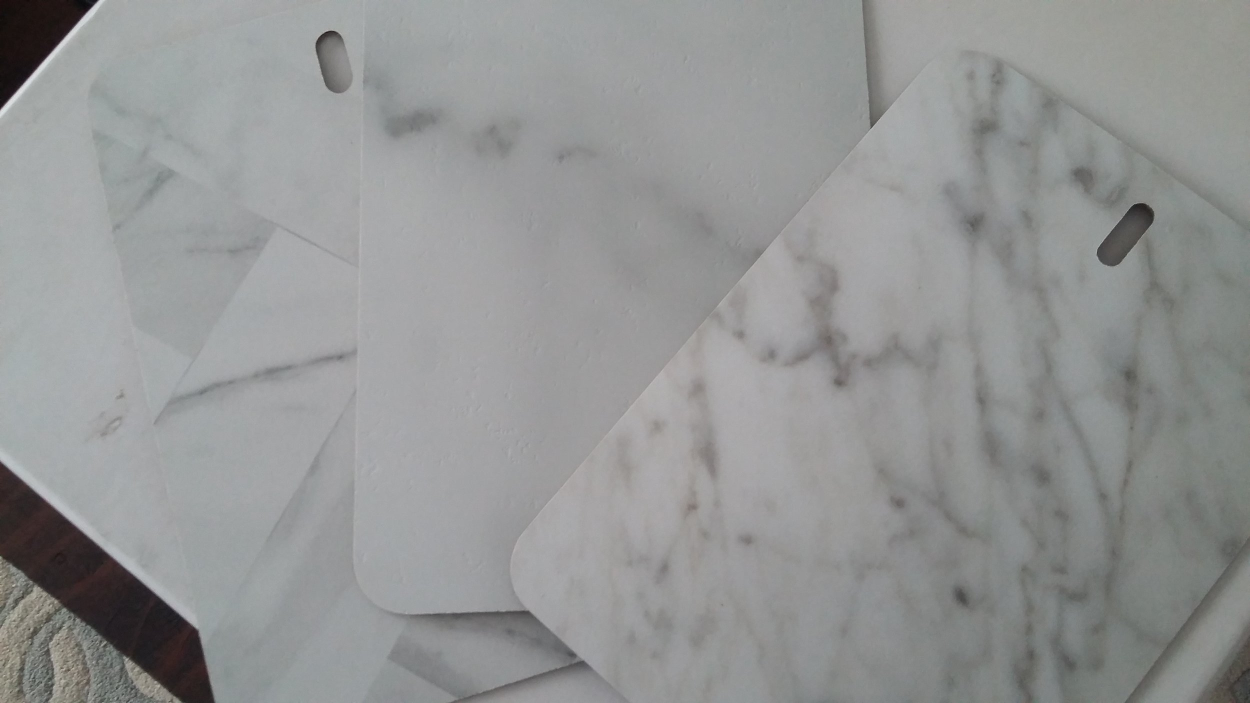 House Flipping - Marble Laminate Countertop   Elizabeth Burns Design