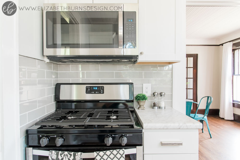House Flipping Before and Afters - Budget Kitchen Renovation, Cheap Cabinets, Cheap Countertops - Sherwin Williams Silver Strand (12).jpg