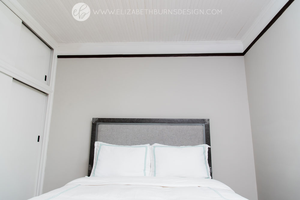 House Flipping Before and Afters - Bedroom Staging Ideas, Wood Trim Paint Colors - Sherwin Williams Repose Gray (1).jpg