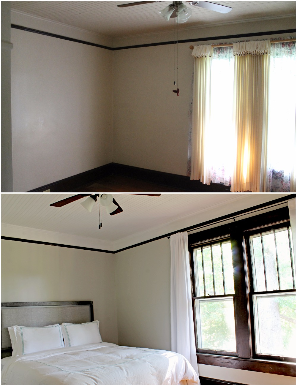 Avenue House (12).jpgHouse Flipping Before and Afters - Bedroom Staging Ideas, Wood Trim Paint Colors - Sherwin Williams Repose Gray 13