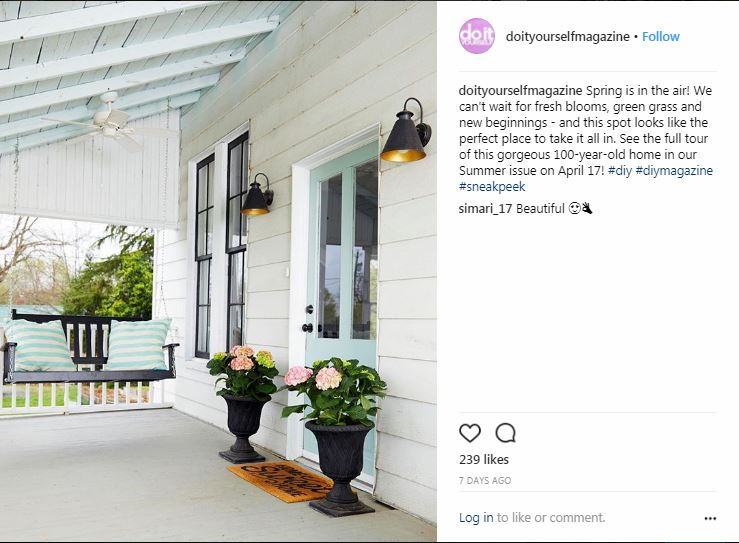 Behind the scenes of a home decor magazine photo shoot 1