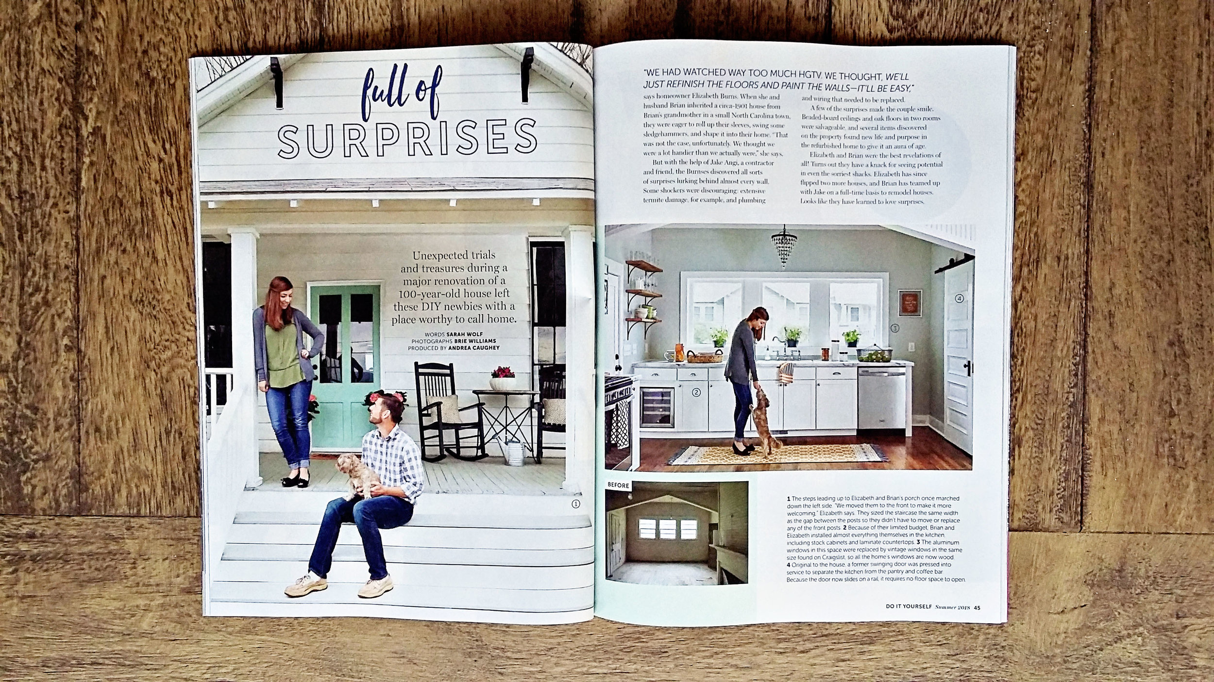 Behind the scenes of a home decor magazine photo shoot 20