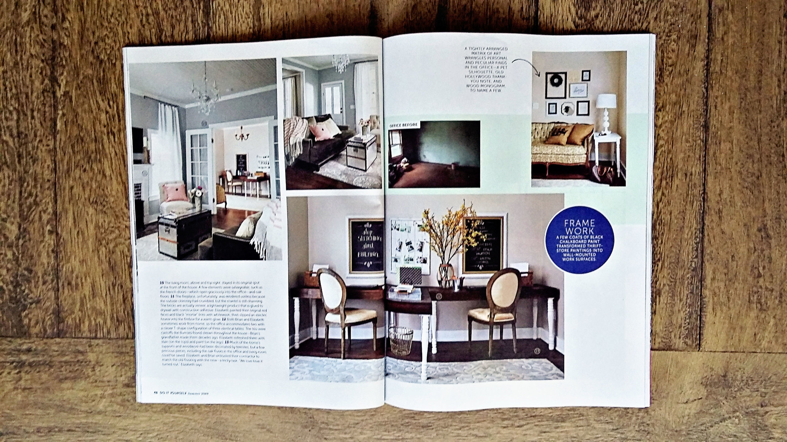 Behind the scenes of a home decor magazine photo shoot 22