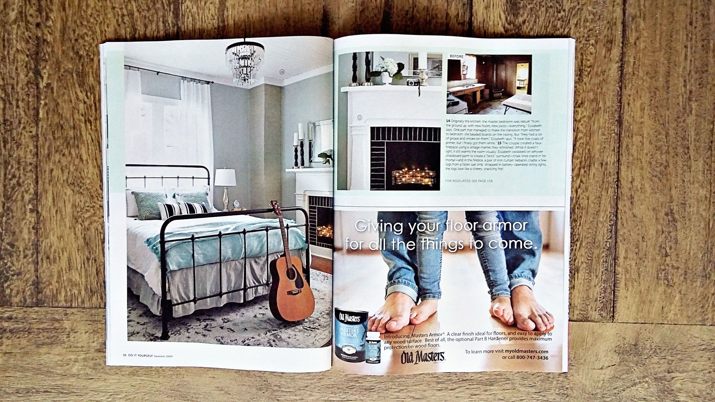 Behind the scenes of a home decor magazine photo shoot 23