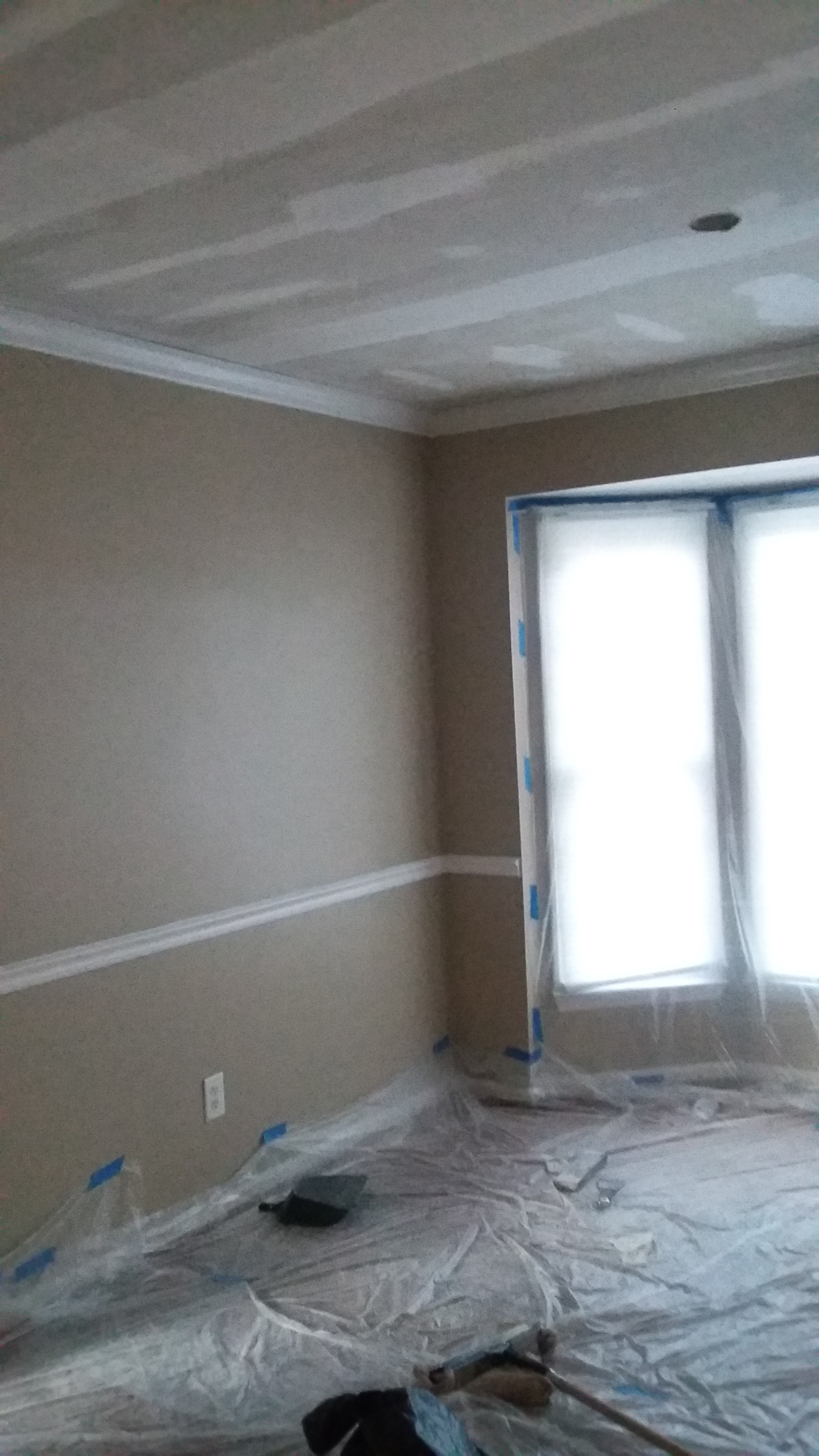 90s Builder Grade House Dining Room Before and After on Budget 2
