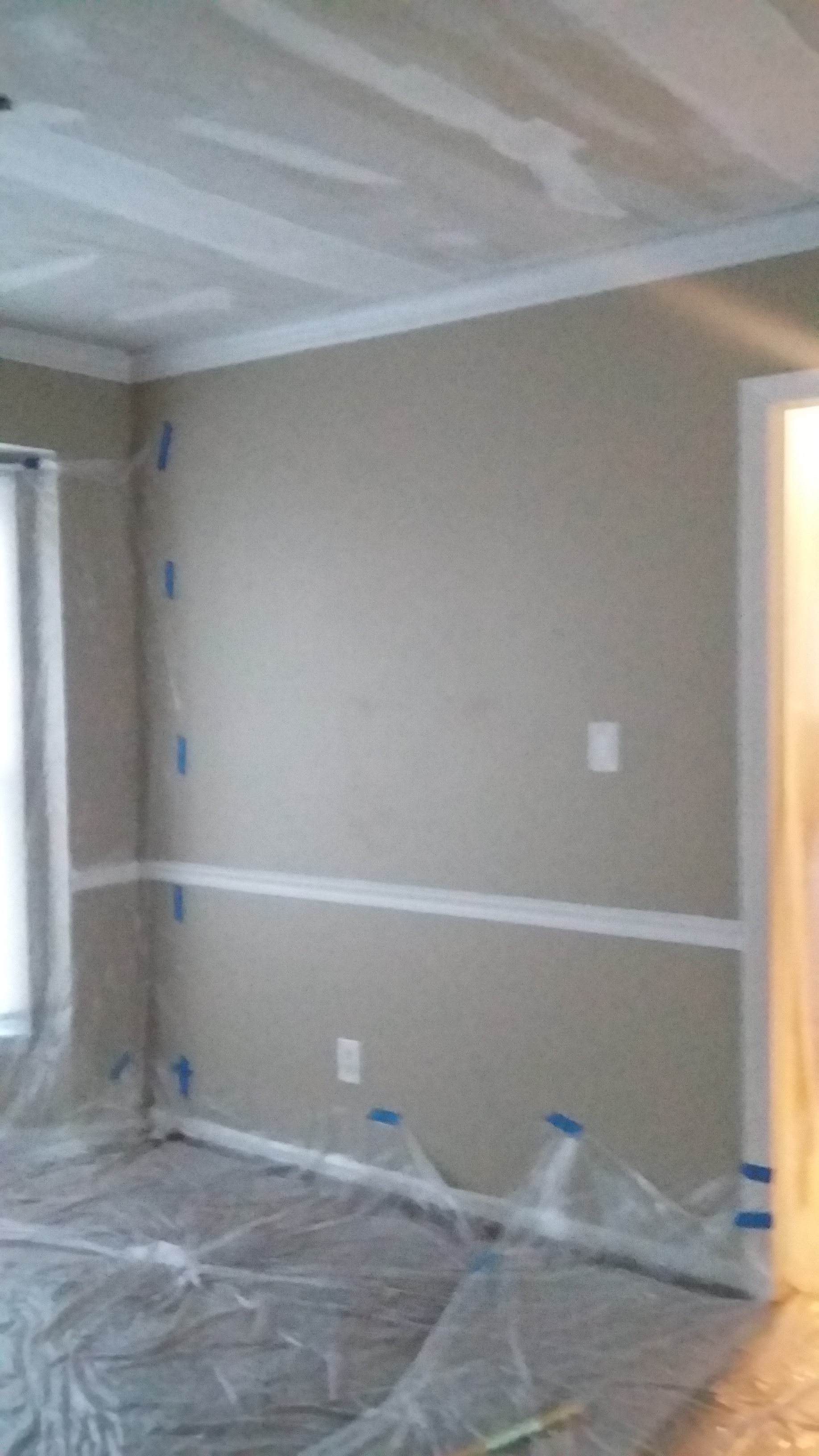 90s Builder Grade House Dining Room Before and After on Budget 3