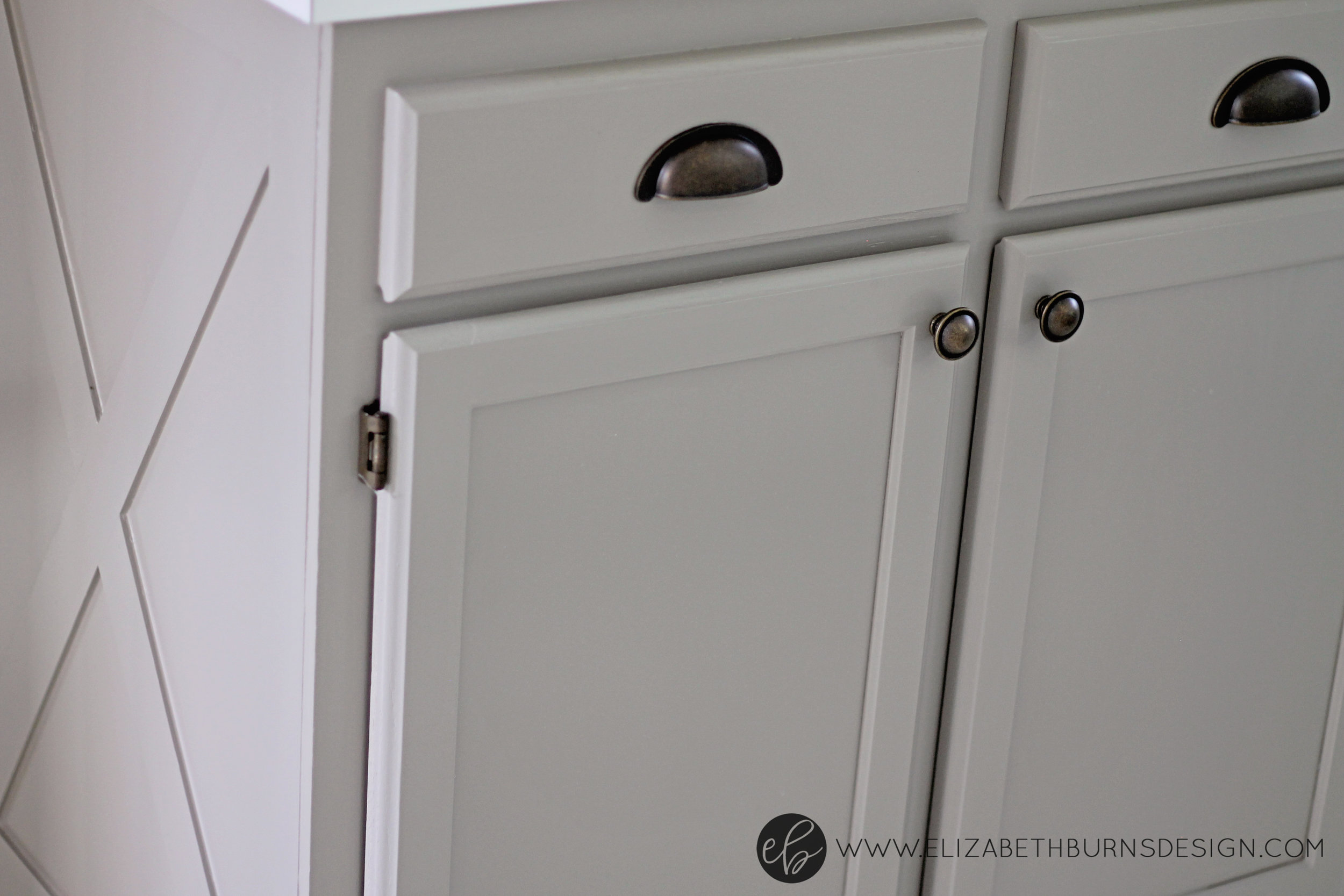 White Kitchen Cabinet Hinges Hardware to go with Brass Hinges & Other Affordable Options