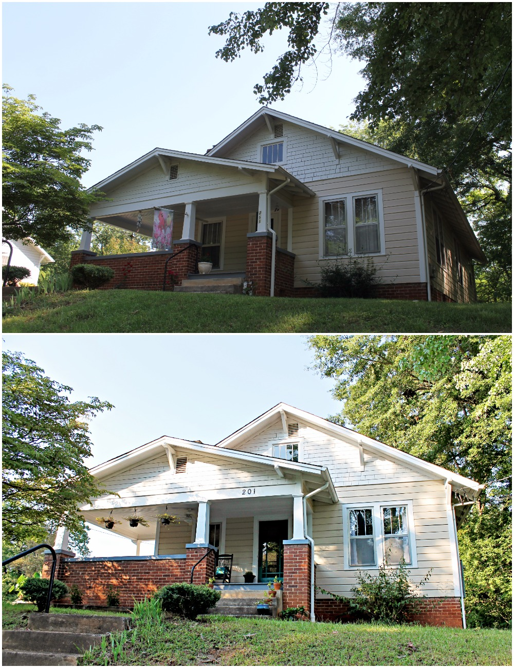 House Flipping Before and Afters - Curb Appeal and Backyard on a Budget DIY (4).jpg