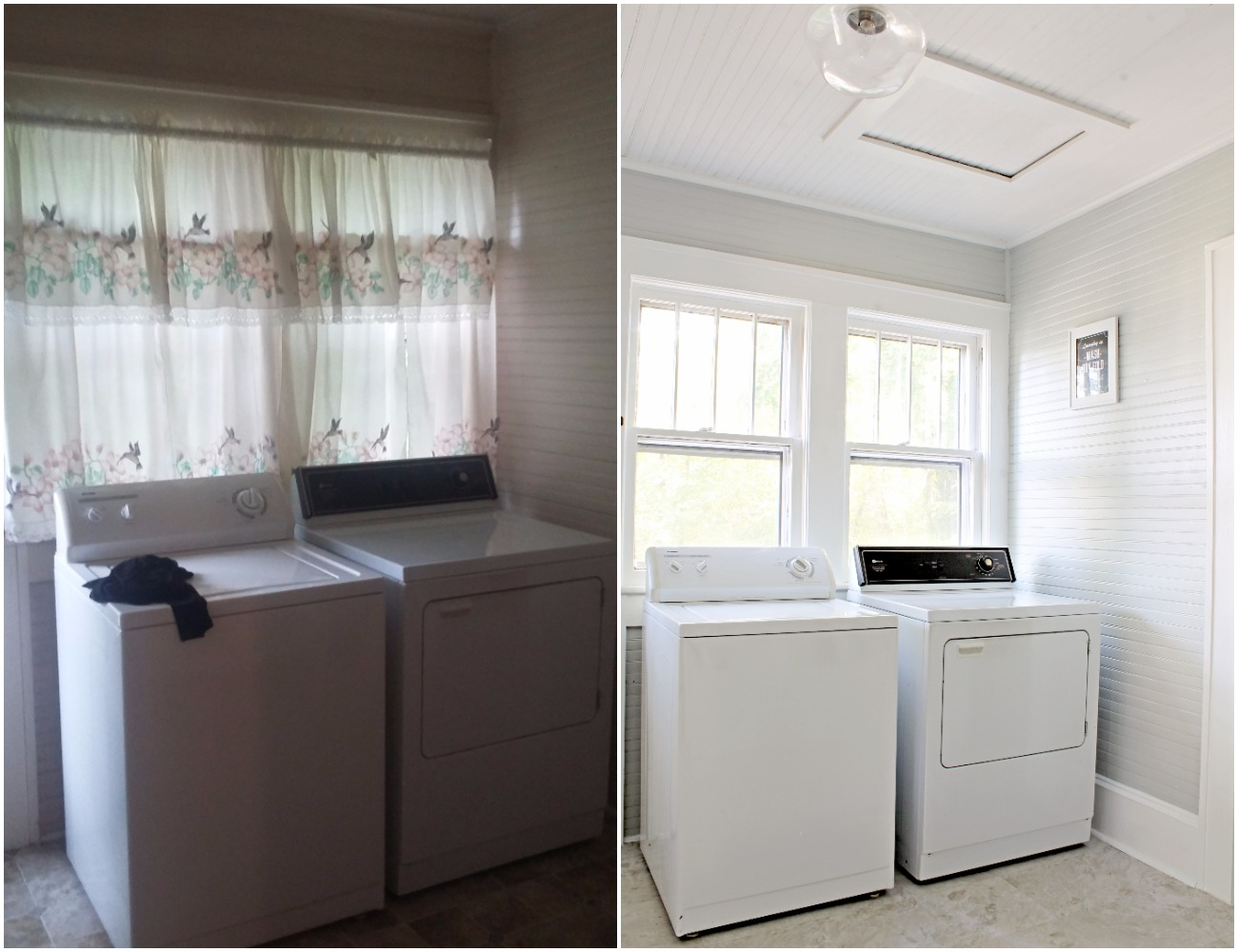 House Flipping Before and Afters - DIY BUDGET LAUNDRY ROOM MUD ROOM IDEAS 1.jpg