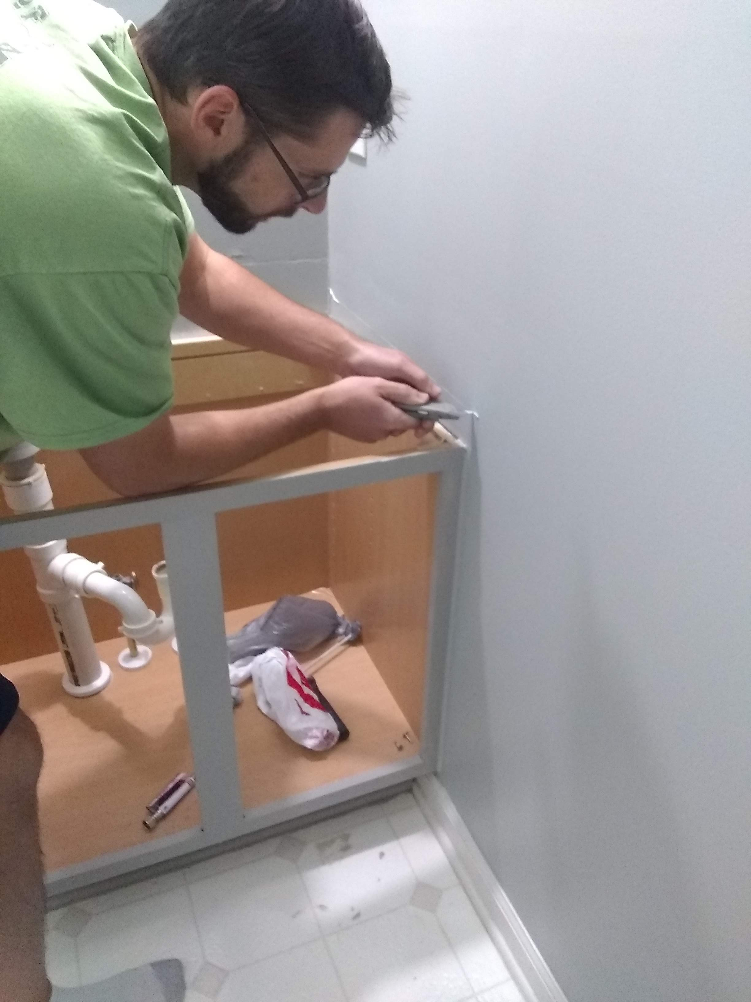 Elizabeth Burns Design | One Room Challenge Guest Bathroom Remodel on a Budget