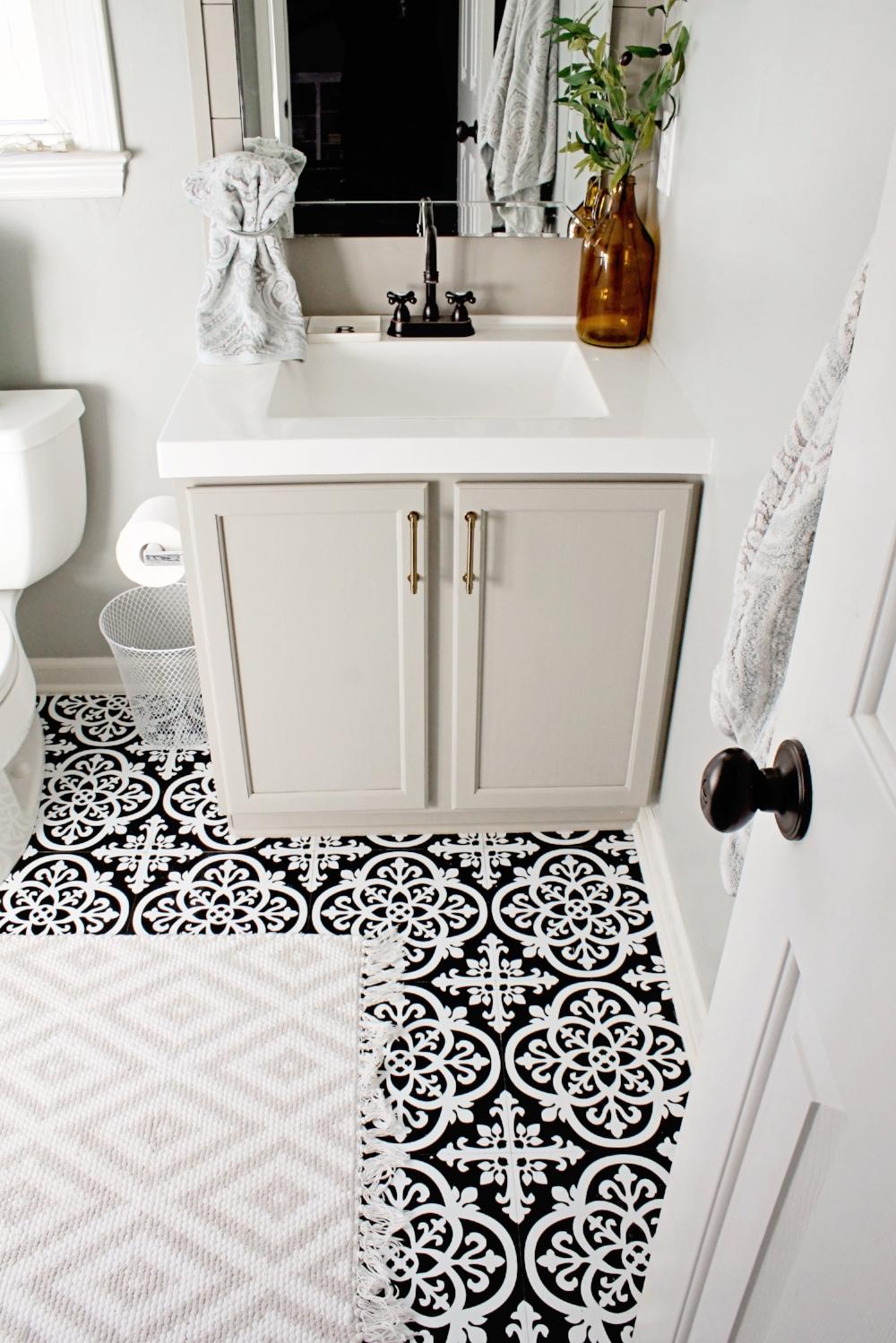 Elizabeth Burns Design - Budget Bathroom Makeover Magnetic Gray Floorpops Peel and Stick Tile (34).JPG