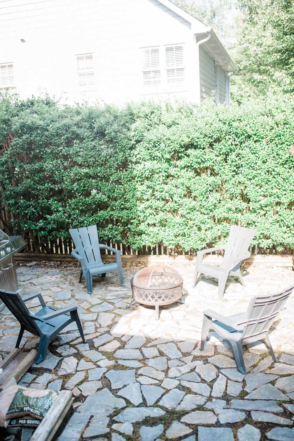 Elizabeth Burns Design Raleigh Interior Designer 1990s house remodel before and after flagstone patio cottage backyard (2).jpg