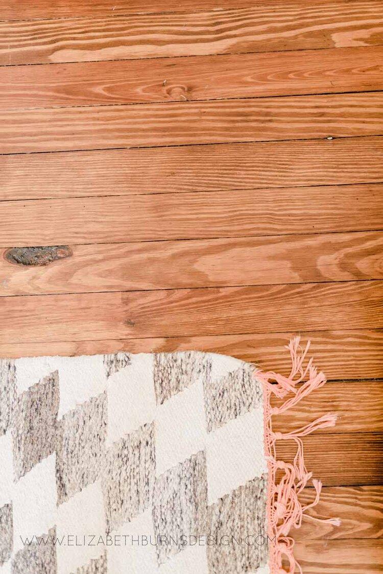 Elizabeth Burns Raleigh Interior Designer Modern Girls Nursery White Walls Eclectic Bungalow Old House Pine Floors (14).jpg