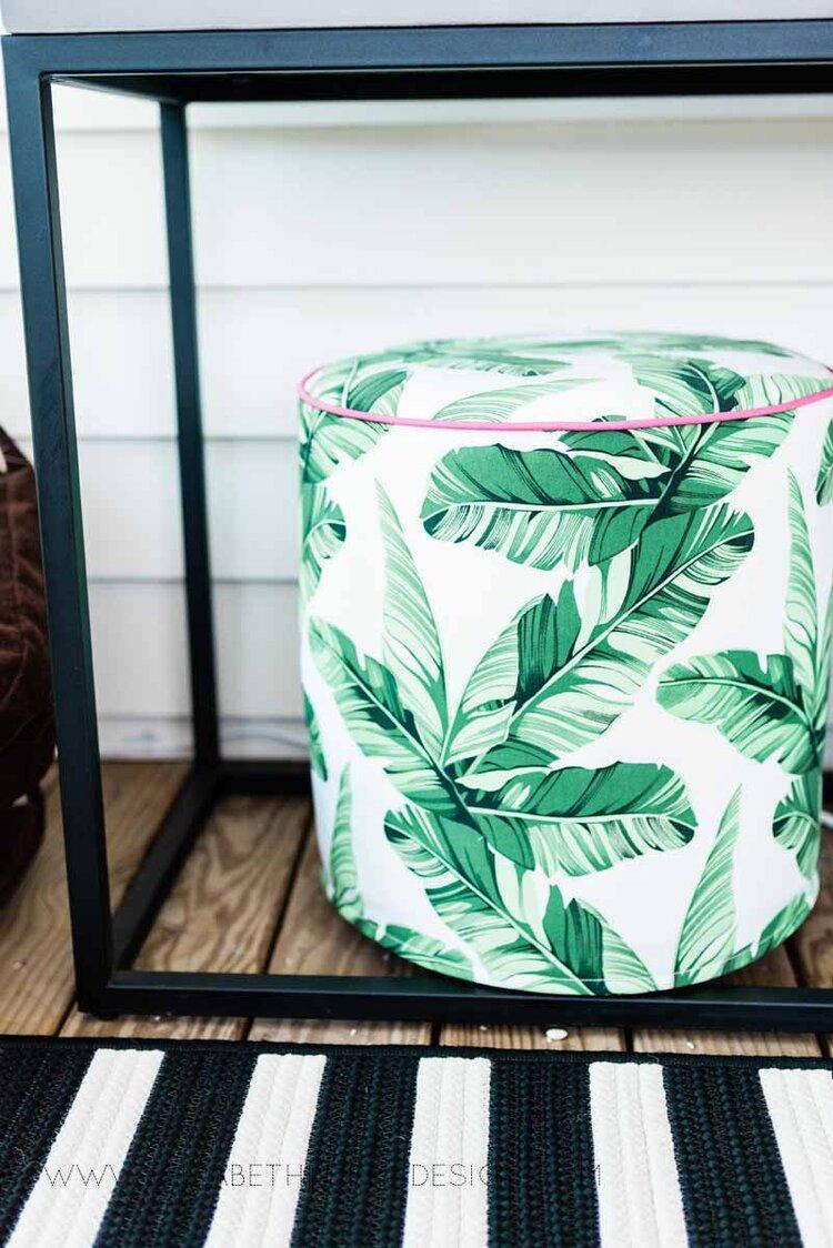 Elizabeth Burns Raleigh Interior Designer Modern Boho Screen Porch Design Tropical Decor (18).jpg