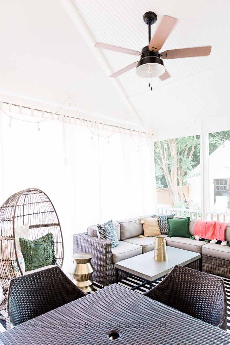 Elizabeth Burns Raleigh Interior Designer Modern Boho Screen Porch Design Tropical Decor (26).jpg
