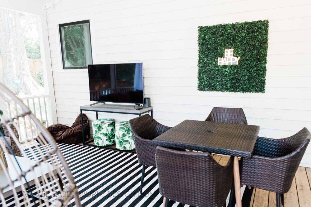 Elizabeth Burns Raleigh Interior Designer Modern Boho Screen Porch Design Tropical Decor (27).jpg
