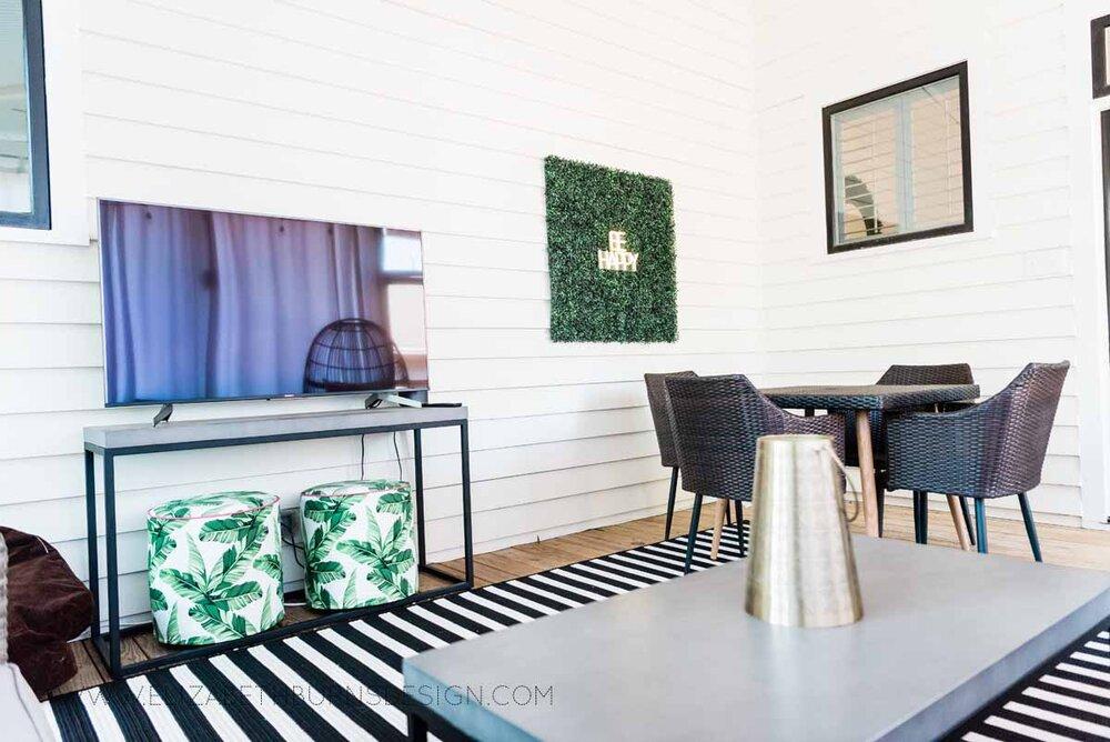 Elizabeth Burns Raleigh Interior Designer Modern Boho Screen Porch Design Tropical Decor (30).jpg