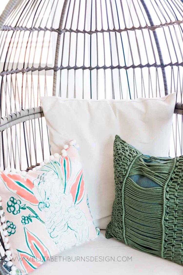 Elizabeth Burns Raleigh Interior Designer Modern Boho Screen Porch Design Tropical Decor (32).jpg