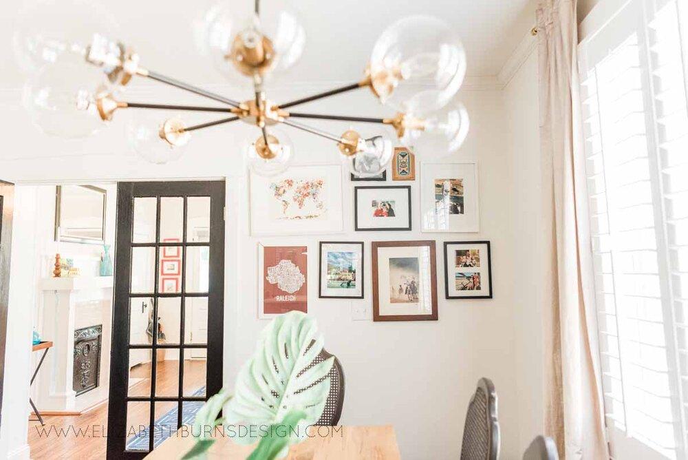 Elizabeth Burns Raleigh Interior Designer Modern Dining Room Reclaimed Wood Table Eclectic Bungalow Old House Pine Floors (6).jpg