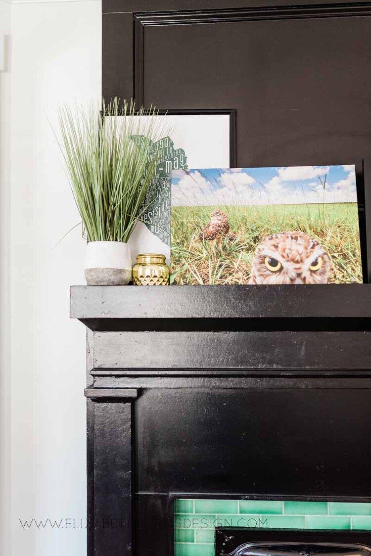 Elizabeth Burns Raleigh Interior Designer Modern Dining Room Reclaimed Wood Table Eclectic Bungalow Old House Pine Floors (22).jpg