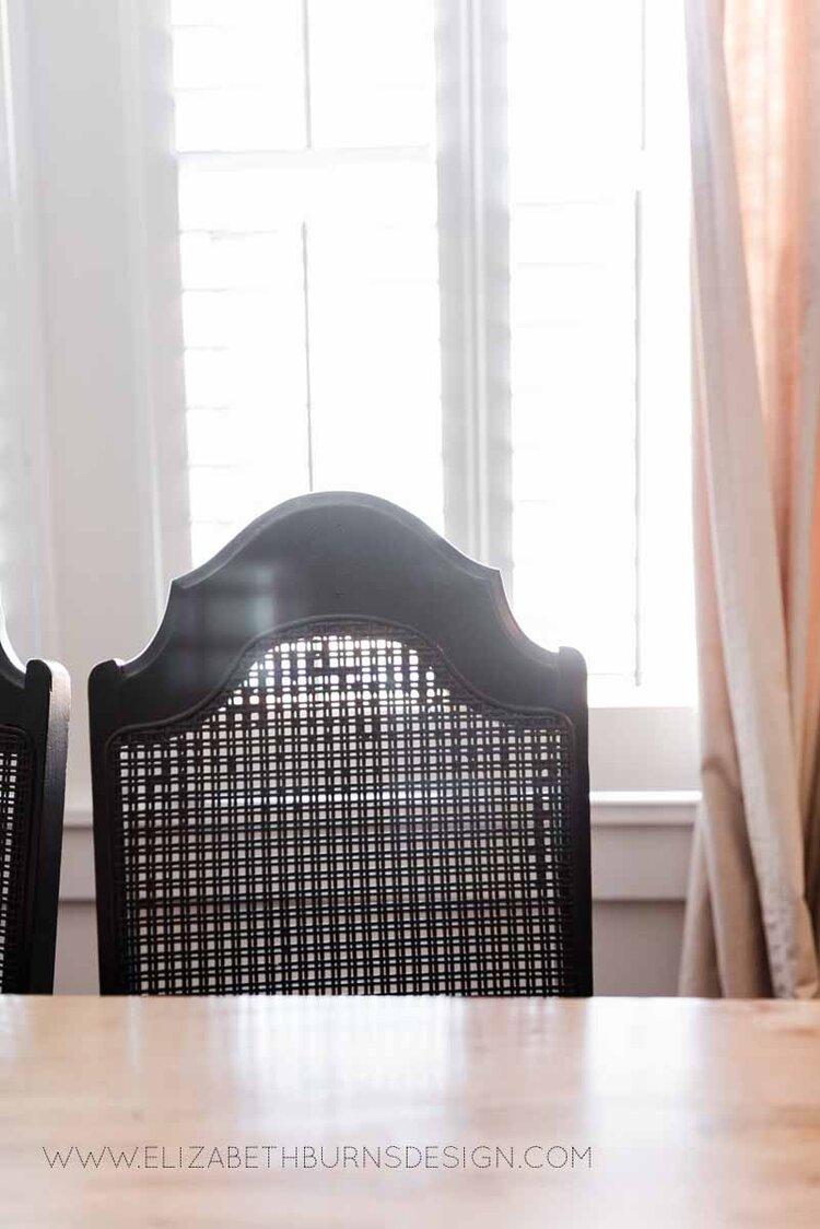 Elizabeth Burns Raleigh Interior Designer Modern Dining Room Reclaimed Wood Table Eclectic Bungalow Old House Pine Floors (38).jpg