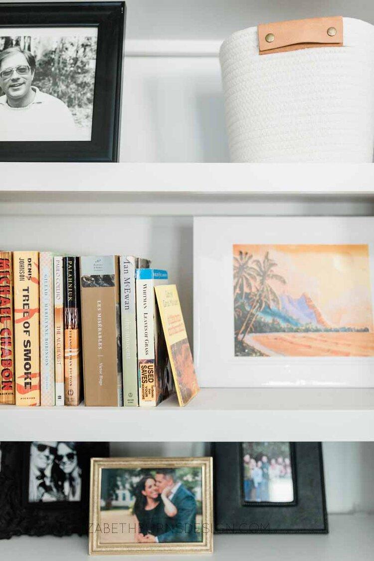 Elizabeth Burns Raleigh Interior Designer Modern Living Room Sputnik Chandelier Built-in Shelves Old House Pine Floors (26).jpg