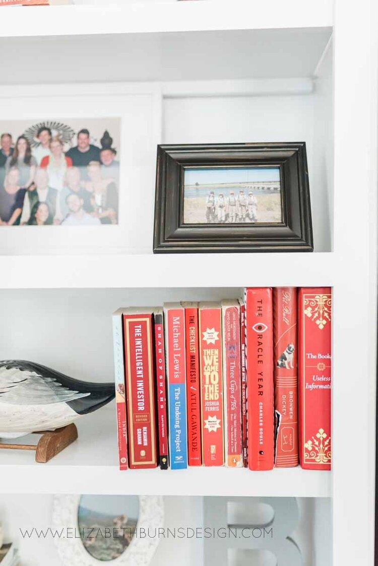 Elizabeth Burns Raleigh Interior Designer Modern Living Room Sputnik Chandelier Built-in Shelves Old House Pine Floors (32).jpg