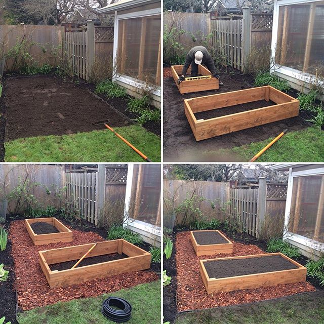 Very happy with this custom veggie box installation that we completed last week. If you're interested in growing your own food at home then contact us through our website. Mowvictoria.com
