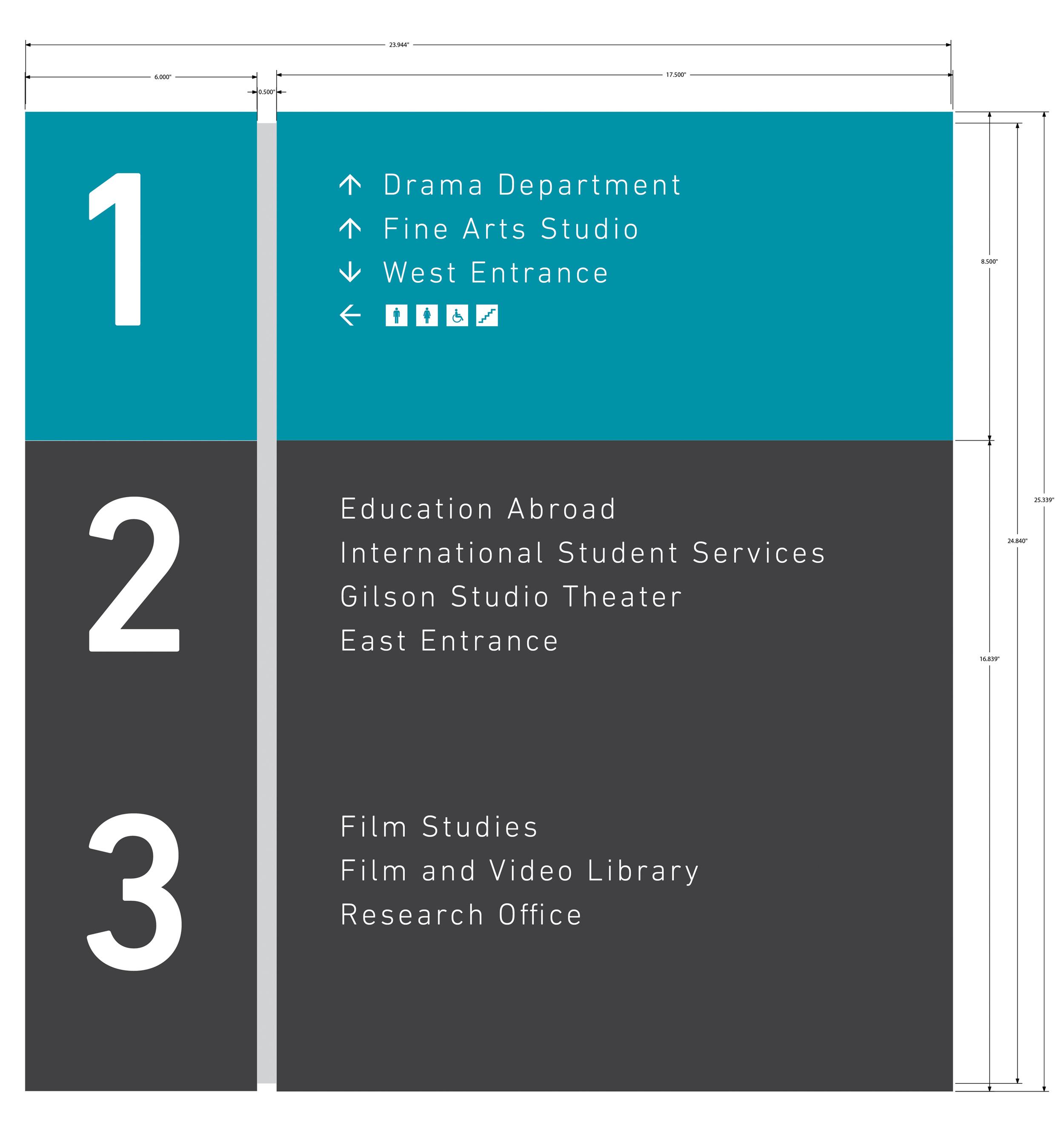 Floor Directory/Wall Directional