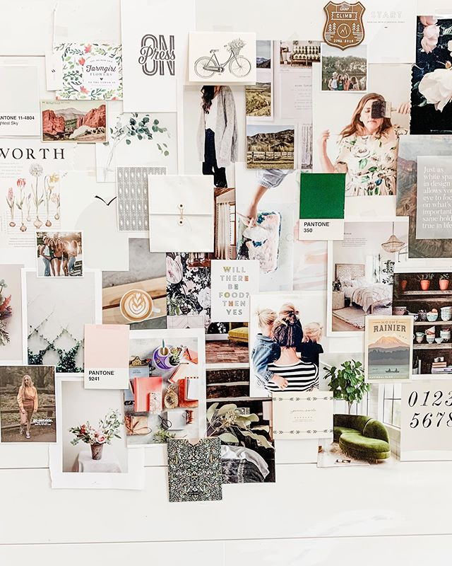 Made some mood board magic with @mariahdanielsen Friday at @campclimb and it's a moment I'll never forget! Something amazing happens when you spend a weekend with women who know exactly where you are and why you do what you do....because they are right there with you. Came home absolutely on fire to kick up the momentum in my business(es) thanks to ALL of the 125+ women who cheered me on and gave me the confidence that I'm making a difference.✨ #gocampclimb #magic #moodboard