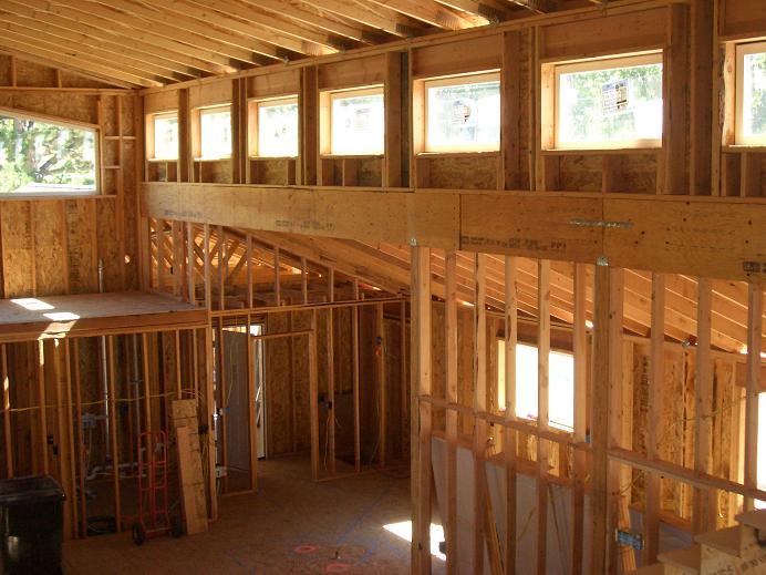 Mott Addition - Interior Framing